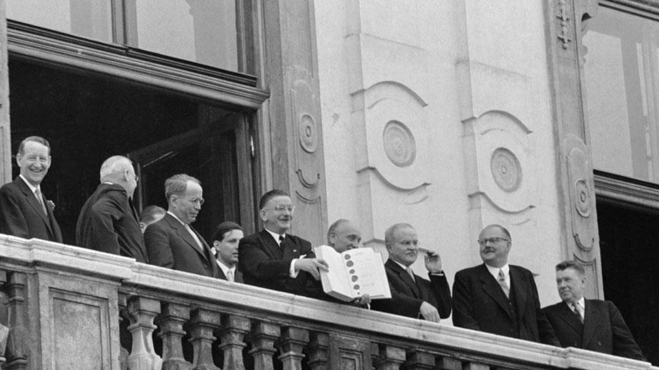 Staatsvertrag Unterzeichnung