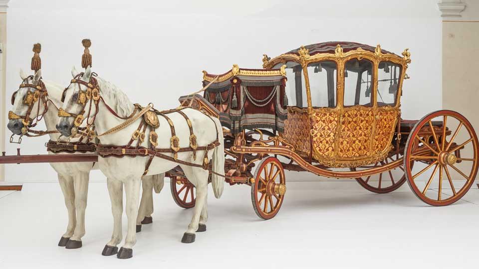 Museum das die Kutschen aus der K&K Zeit aus Wien zeigt