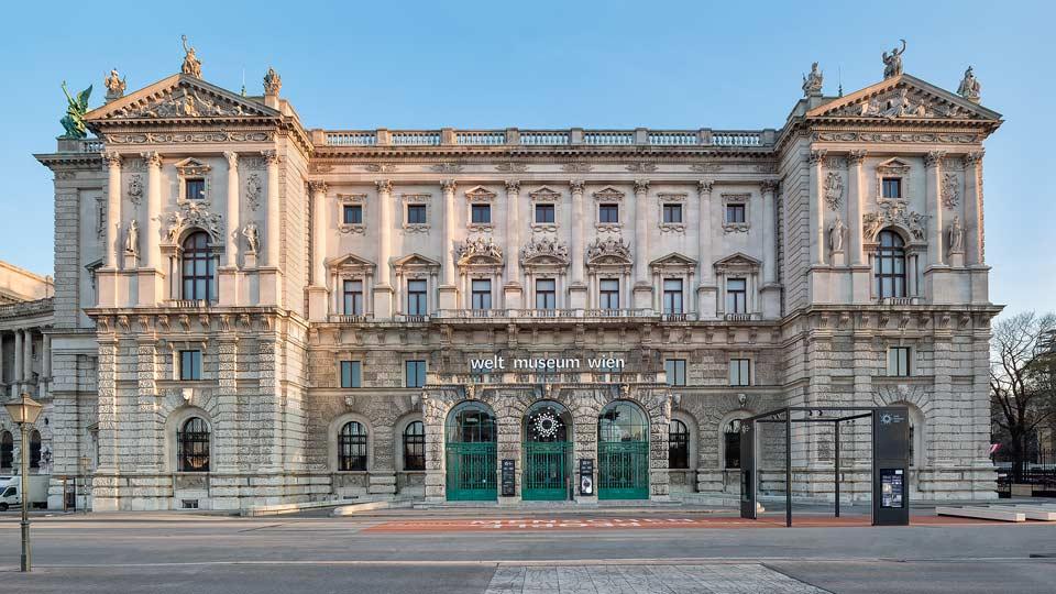 Weltmuseum_Wien_Frontansicht
