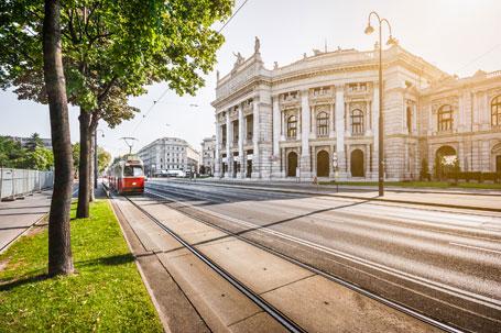 Ringstrasse in Wien