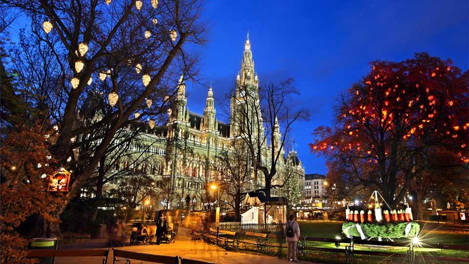 schönster Weihnachtsmarkt in Wien